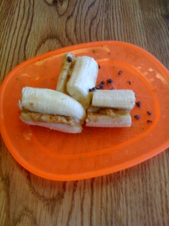 Loaded Banana Sandwich
