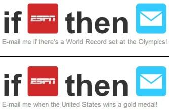 IFTTT: Olympics